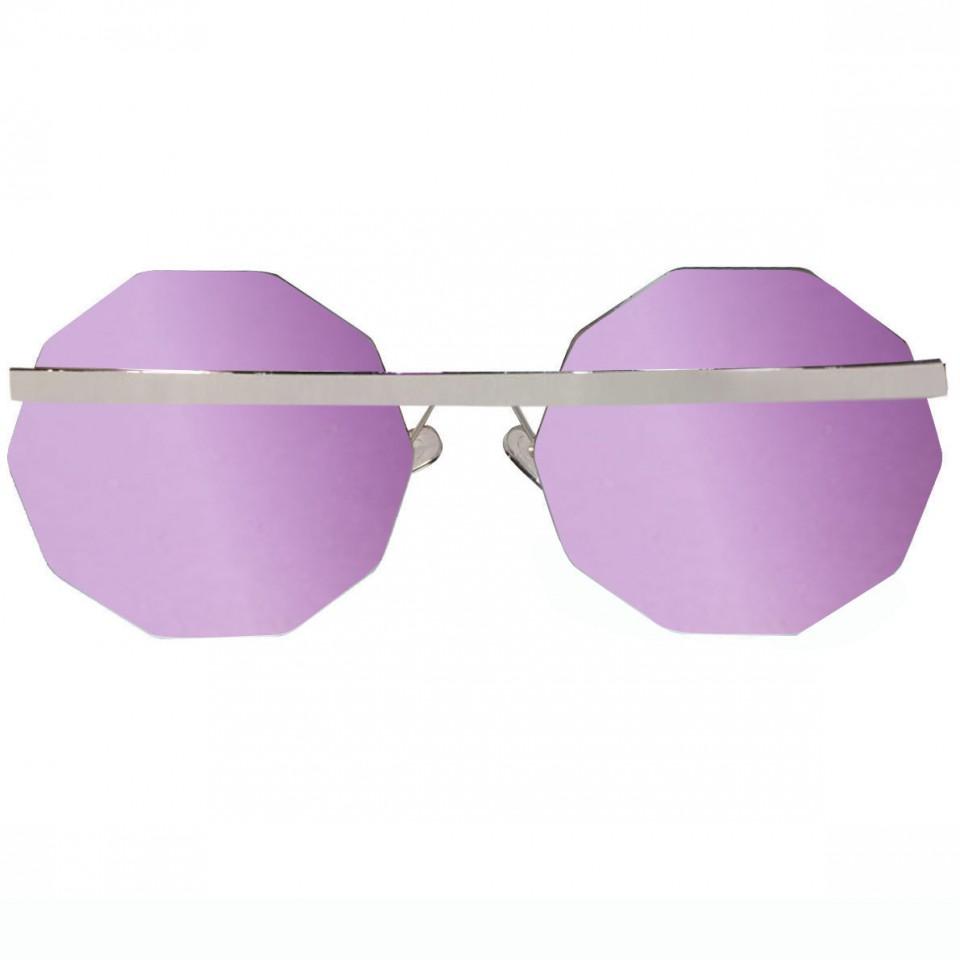 Decagon Silver Flash Pink