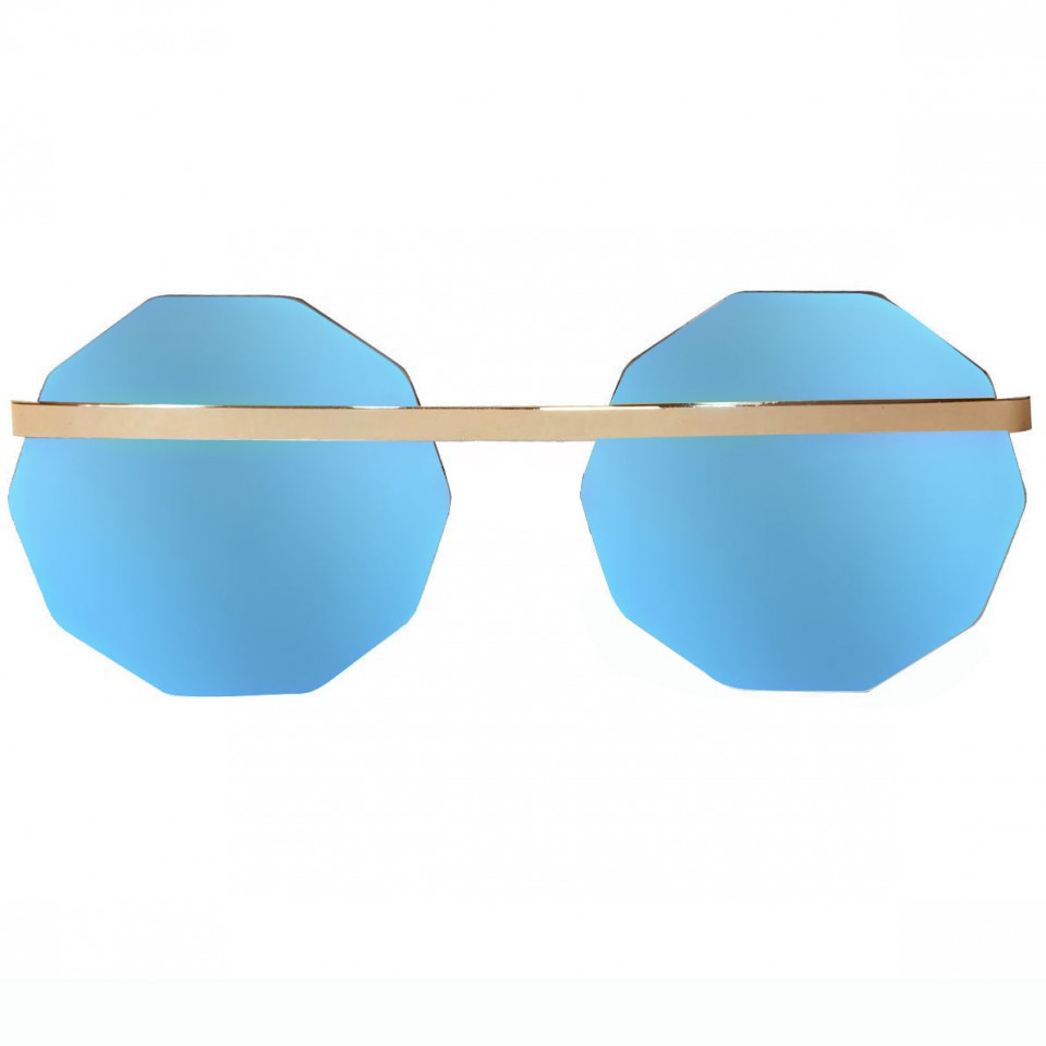Decagon Gold Flash Blue