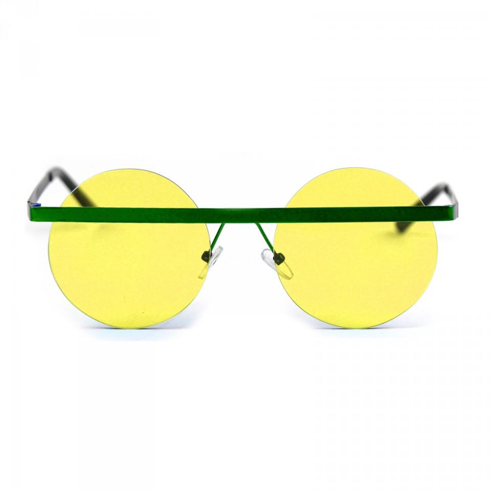 Steel Dark Green Yellow