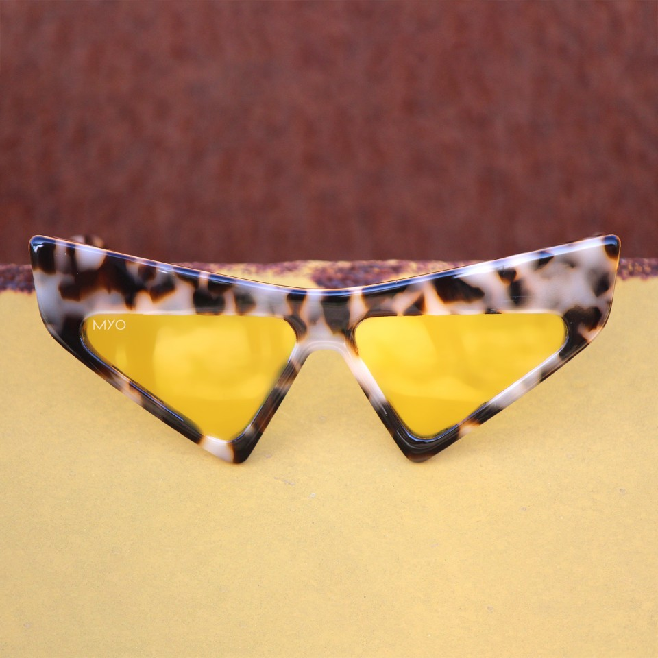 Catter Light Tortoise Yellow