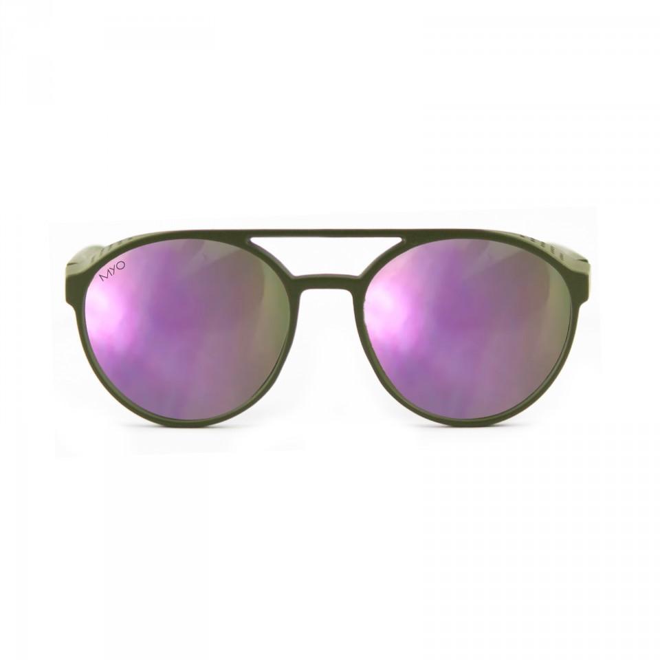 Steve Dark Green Purple