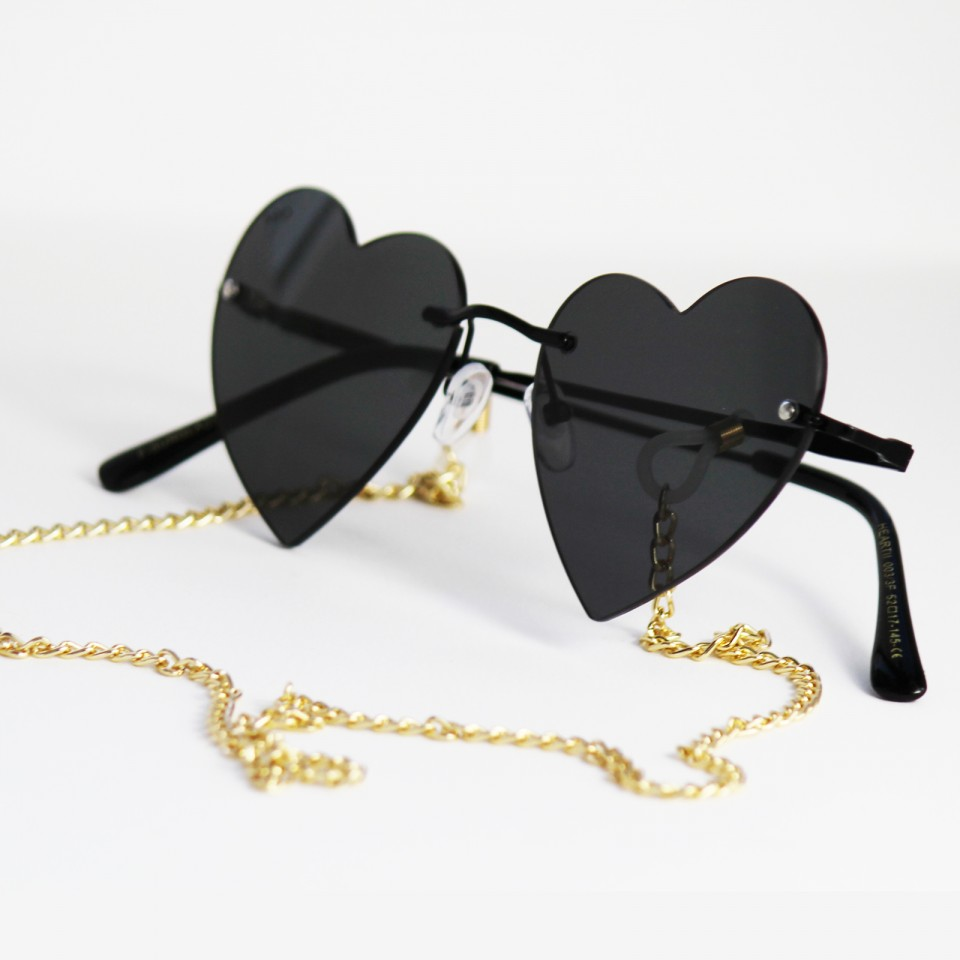 HeartII Total Black