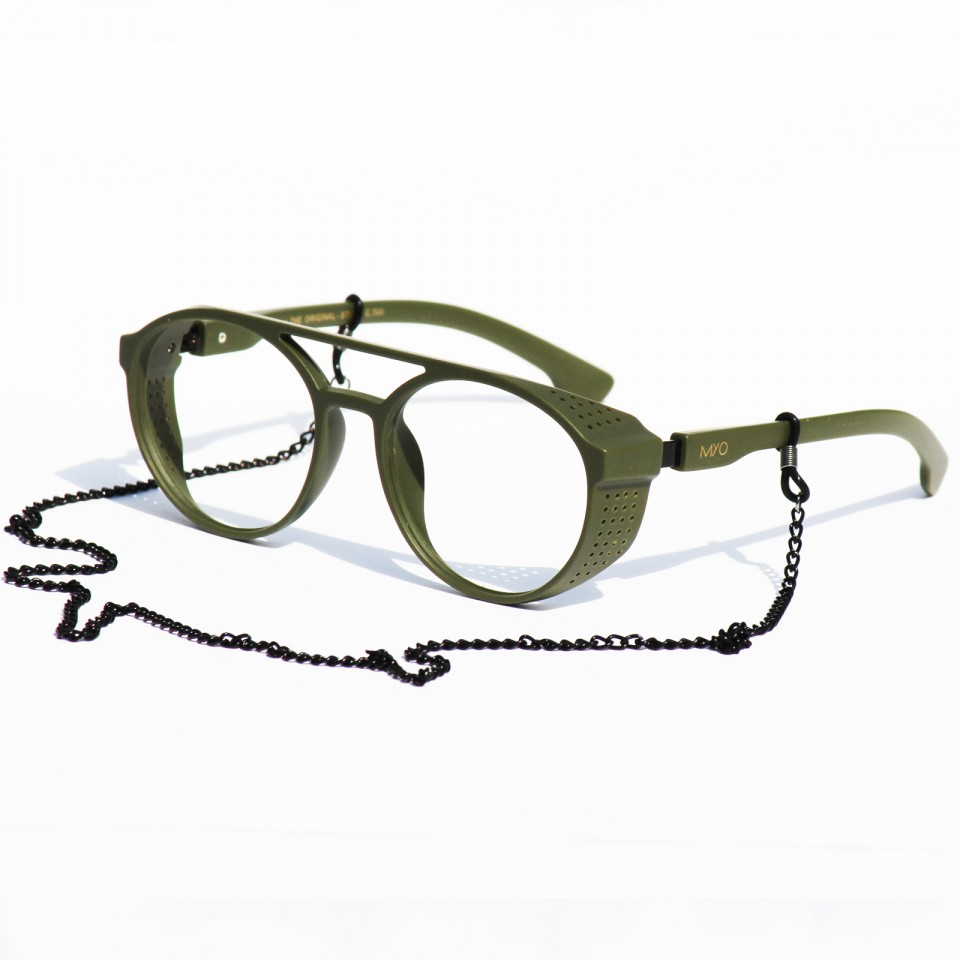 Steve Dark Green Frames