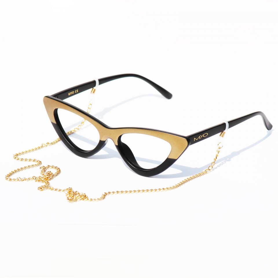 Flynet Black Gold frames
